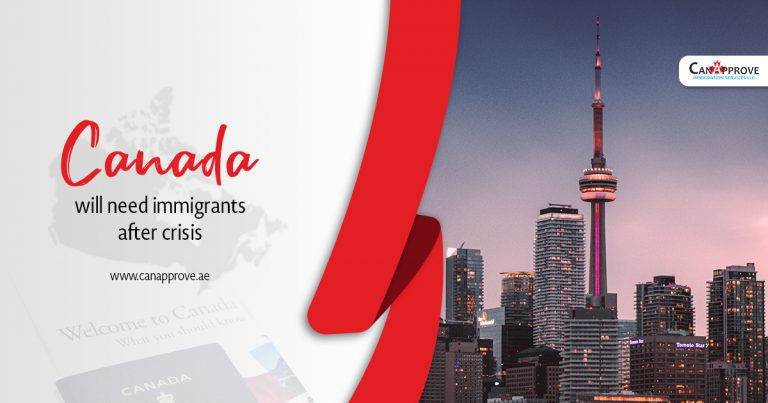 Canada will need immigrants after crisis