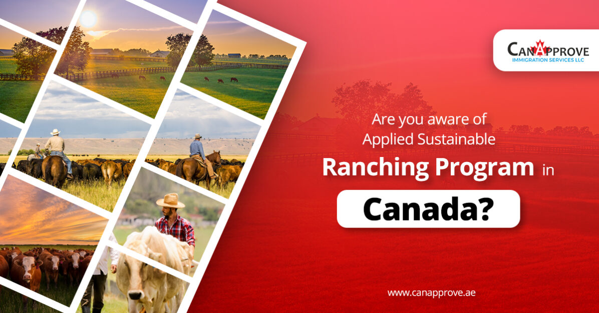 Applied Sustainable Ranching Program in Canada