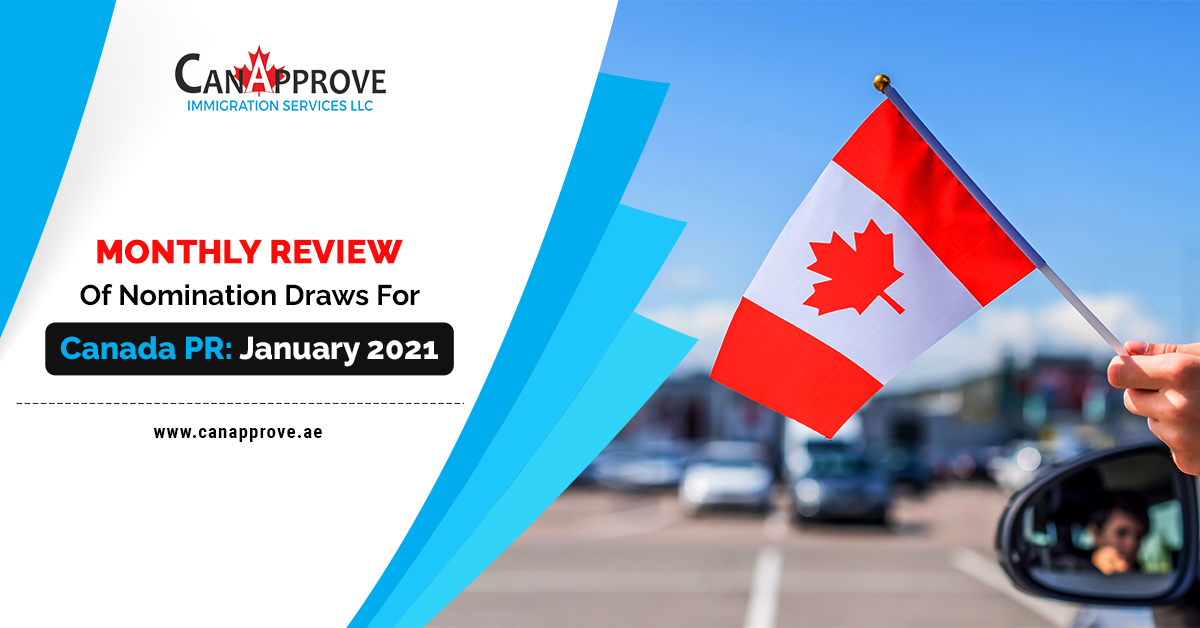Monthly Review Of Nomination Draws For Canada PR