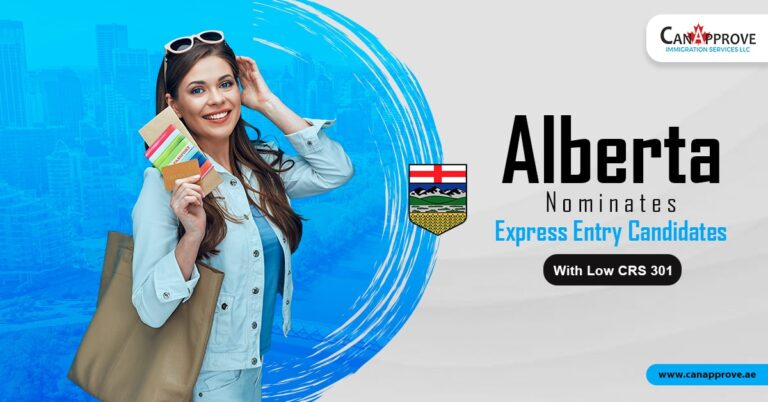 Alberta nominates Express Entry candidates with low CRS 301-min