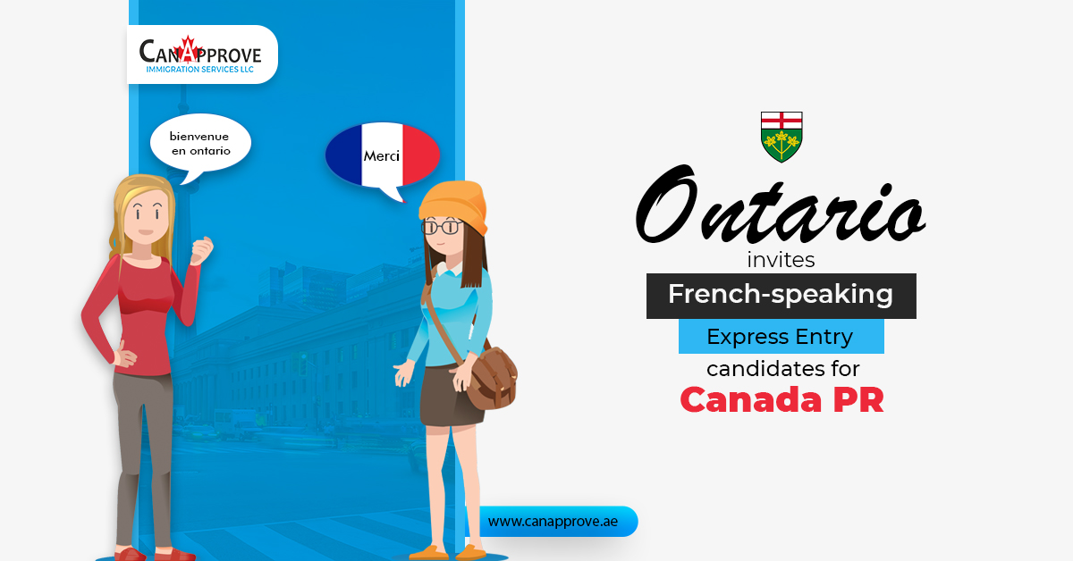 Ontario invites French speaking Express Entry