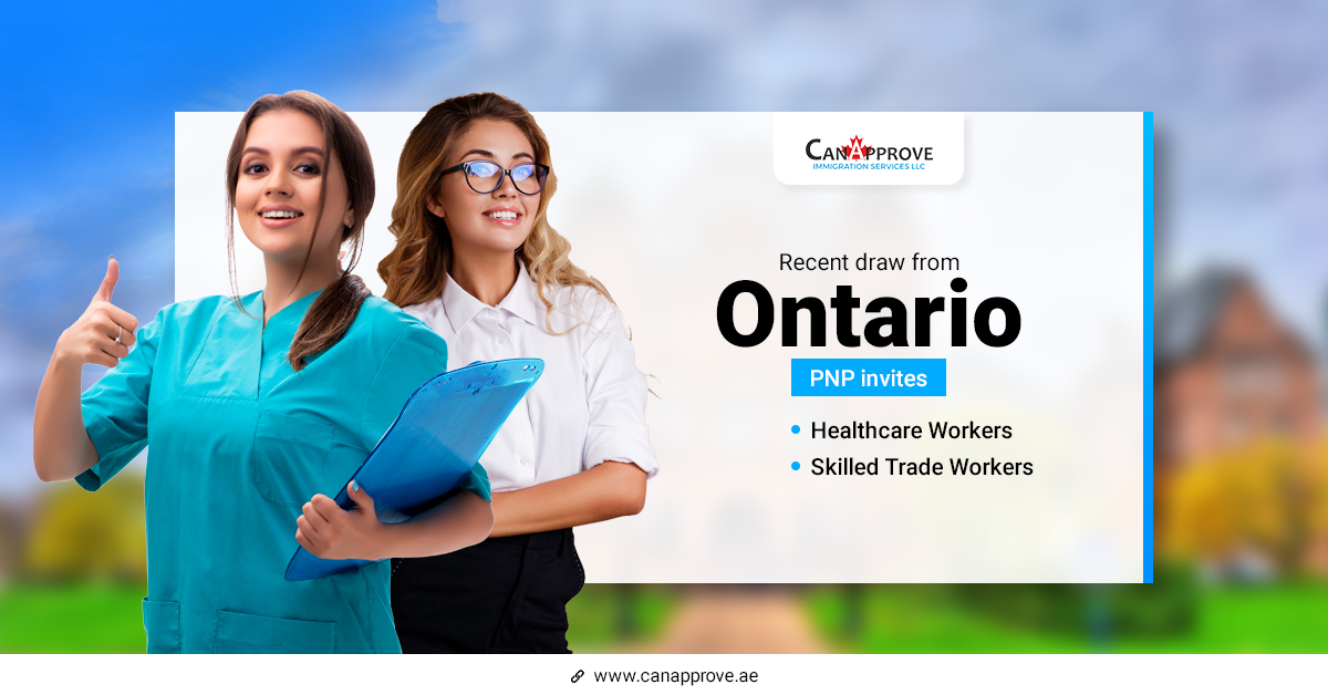 Ontario PNP invites health care and skilled trades workers