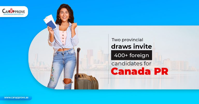 Two-provincial-draws-invite-400+-foreign-candidates-for-Canada-PR