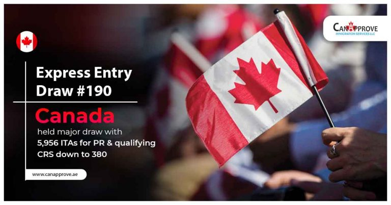 Express entry draw 190