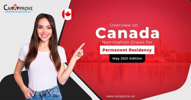 Monthly Review: Canada PR Nomination Draws in May 2021