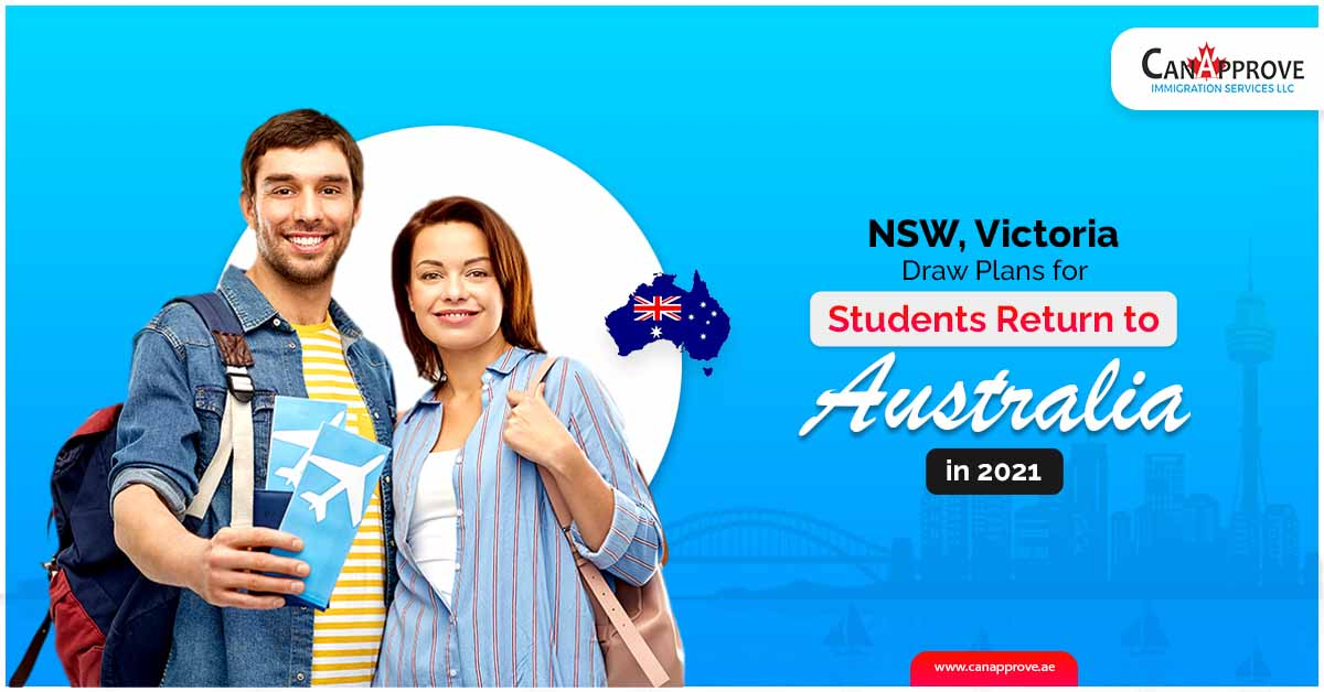NSW, Victoria draw plans for students return to Australia in 2021