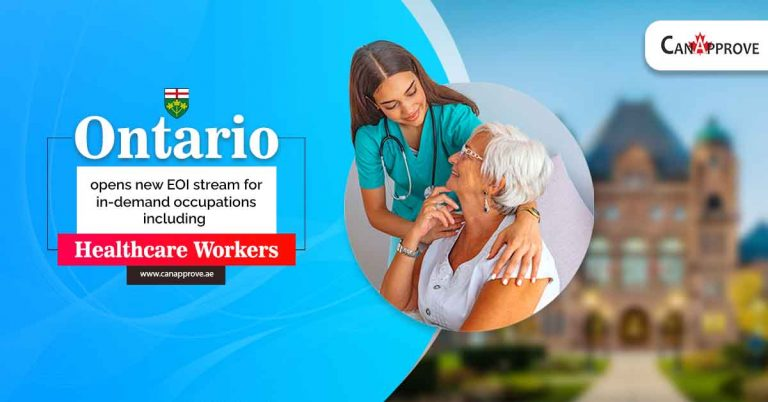 Ontario opens new EOI stream for in-demand occupations including Healthcare workers
