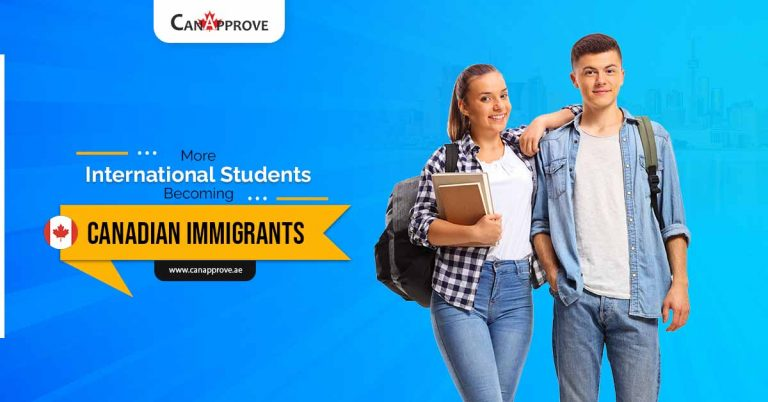 More international students becoming Canadian immigrants