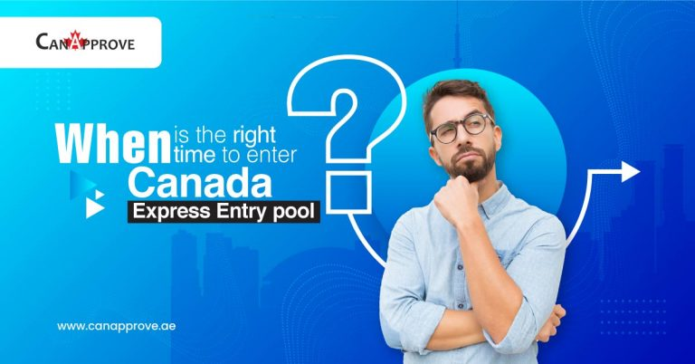 When is the right time to enter Canada Express Entry pool