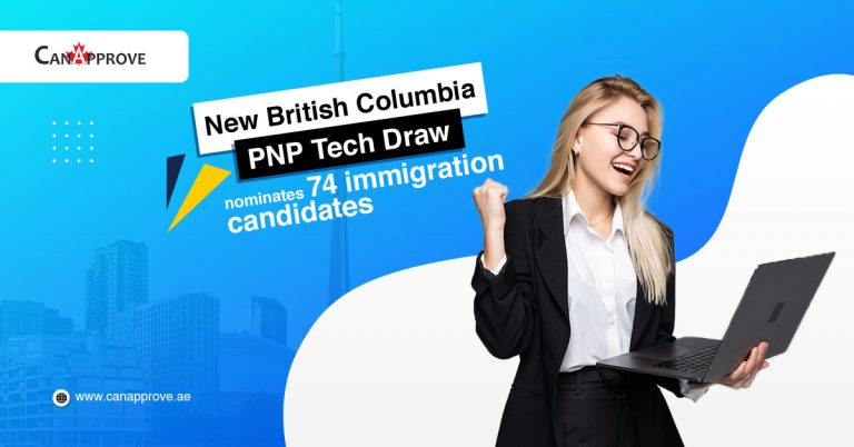 bcpnp tech draw invites 74 immigration candidates