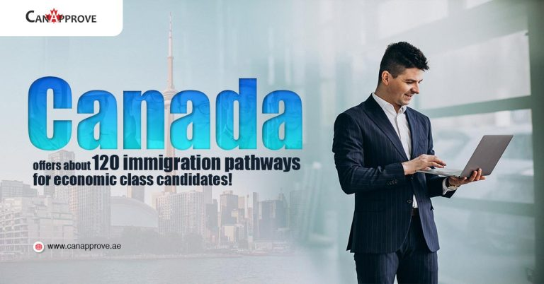 Canada offers about 120 immigration pathways