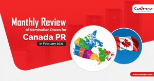 Monthly Review: Canada PR Nomination Draws in February 2021
